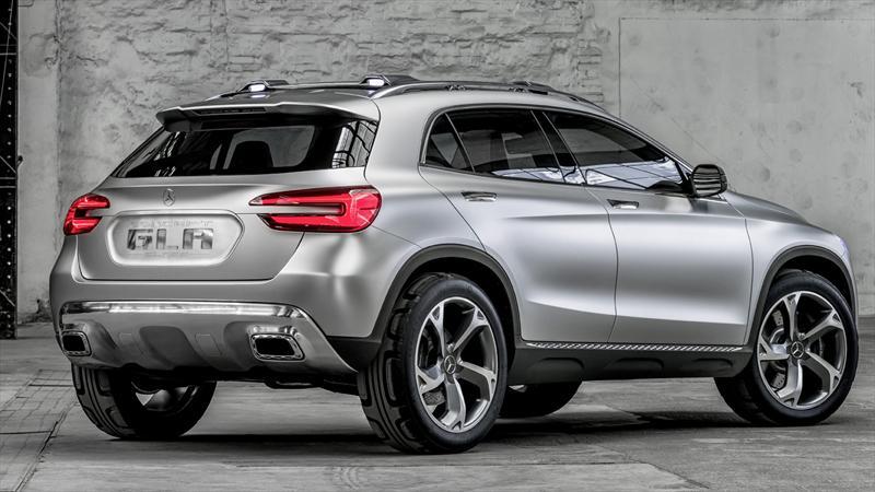 Mercedes benz presenta la gla concept for Mercedes benz louisiana