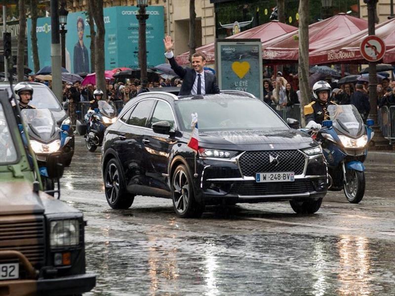 DS7 Crossback, vehículo elegido por el nuevo presidente de Francia