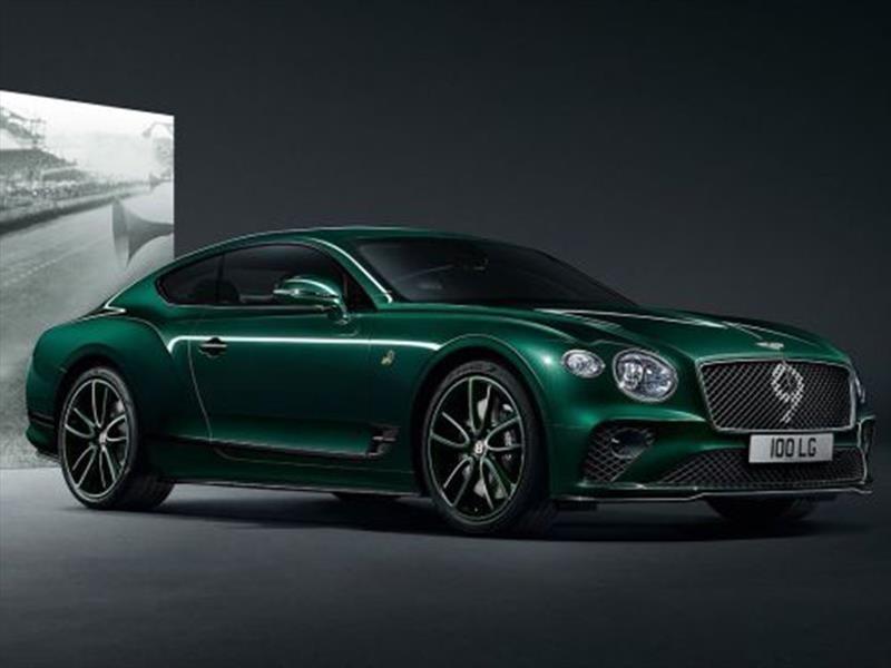 Bentley festeja sus 100 años con el Continental GT Number 9 Edition por Mulliner