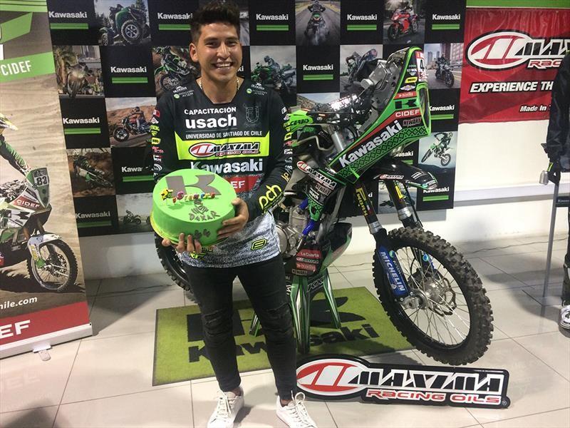 Patricio Cabrera quiere ser Top 30 en el Dakar 2019