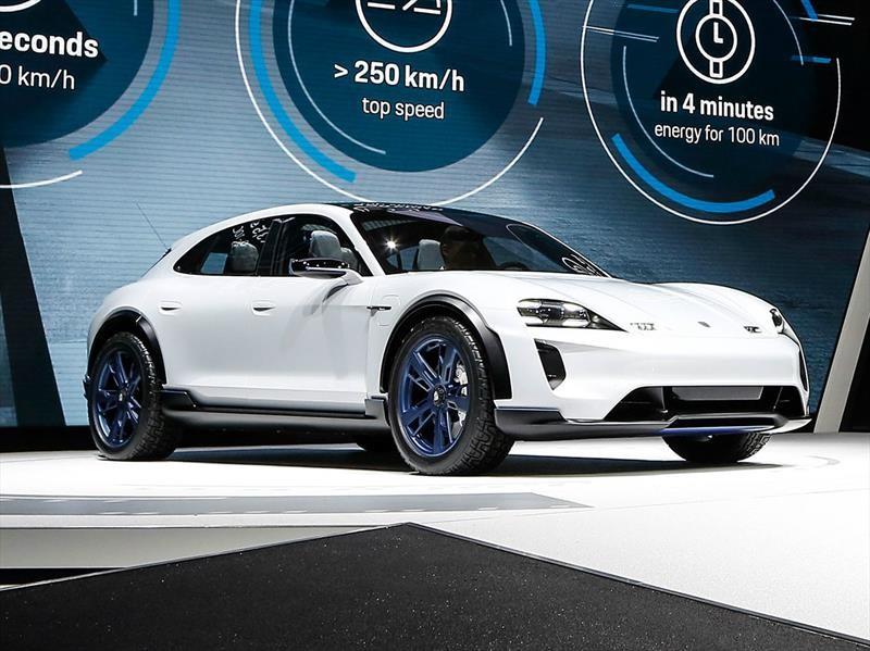 Porsche Mission E Cross Turismo se presenta