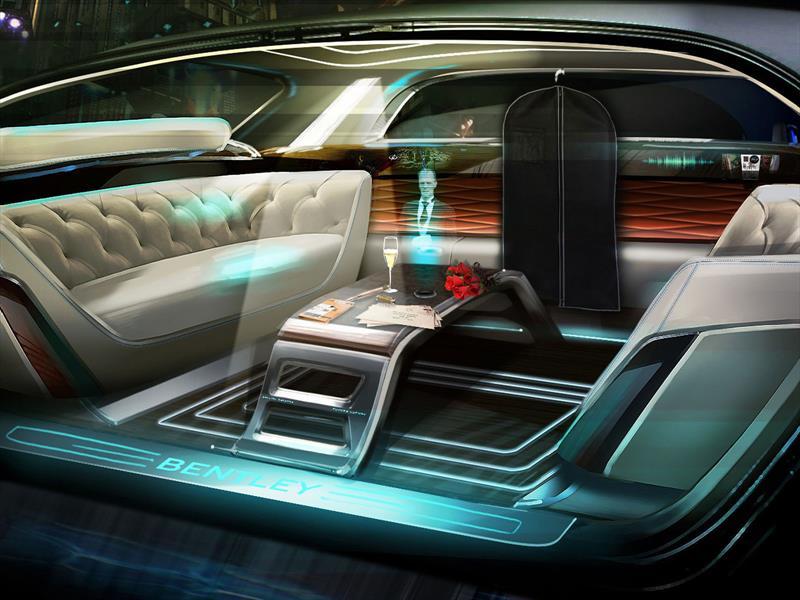 Así imagina Bentley al futuro del lujo