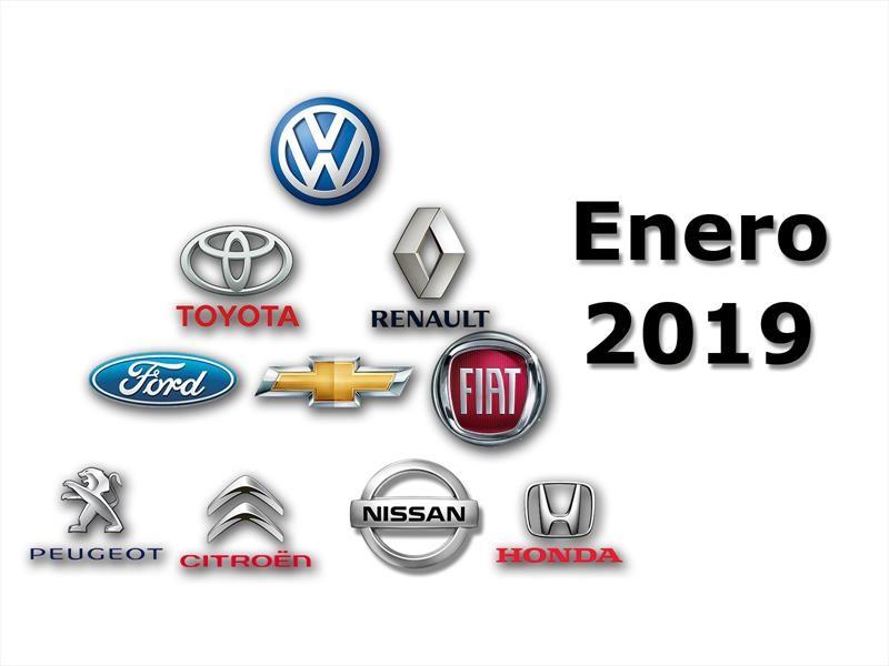 Top 10: Las marcas que más vendieron en enero 2019
