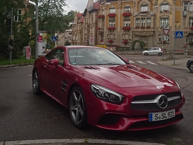 Mercedes-Benz SL 400 2018, primer contacto en Alemania