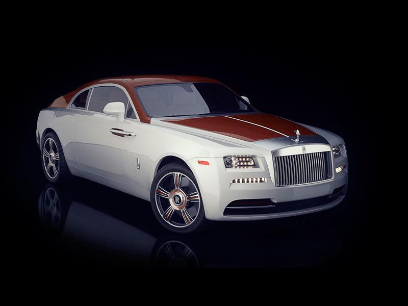 Rolls-Royce Wraith Regatta, bella artesanía en madera