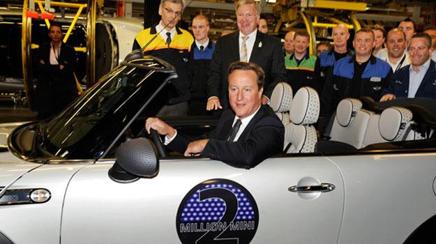 BMW fabrica el MINI número dos millones en el Reino Unido