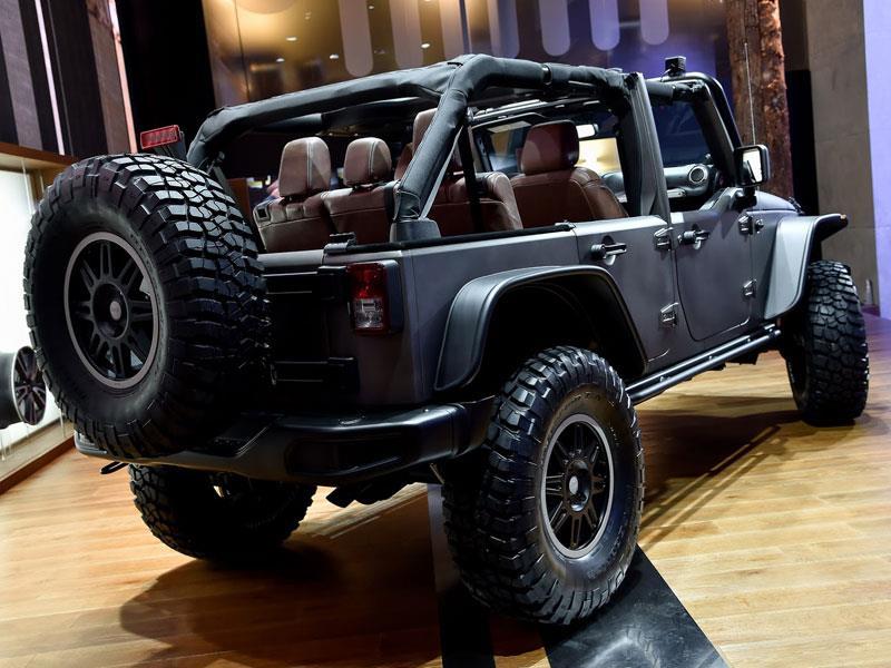 Jeep Wrangler Unlimited Rubicon Stealth Study se presenta