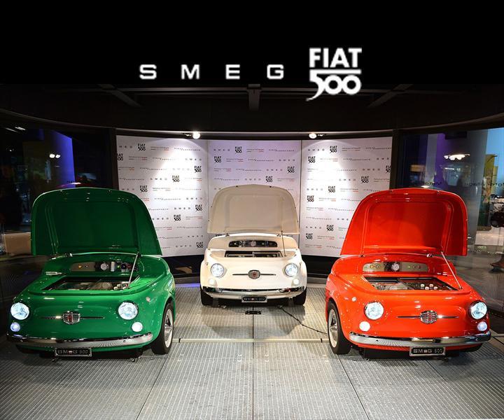 FIAT 500 se convierte en un refrigerador