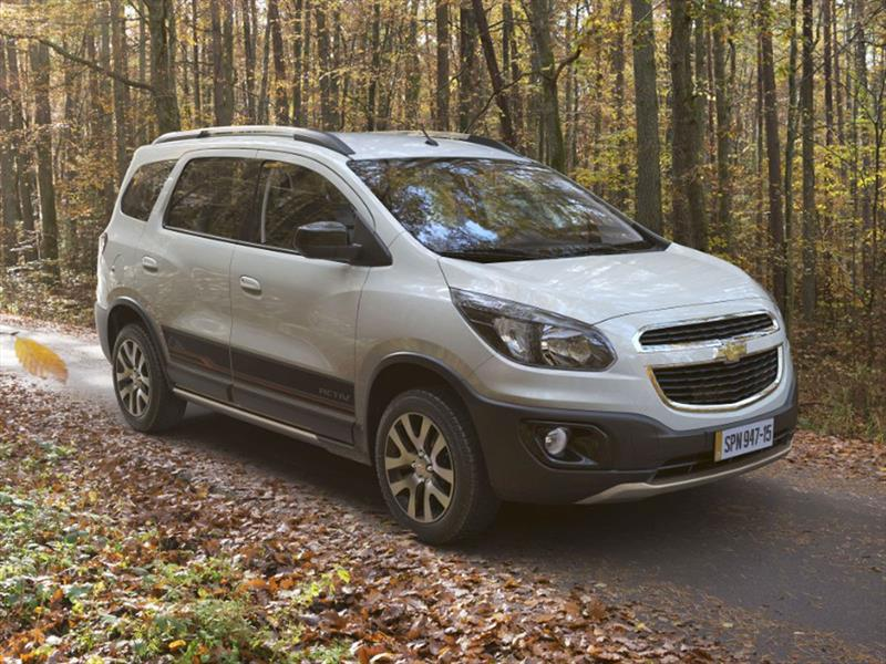Chevrolet Spin Activ se presenta