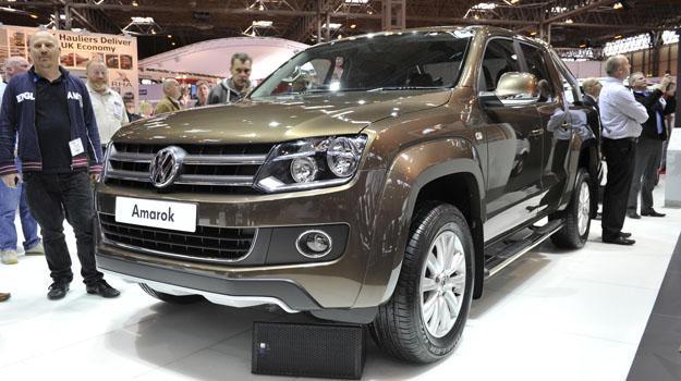 Volkswagen Amarok Automática se presenta en Frankfurt