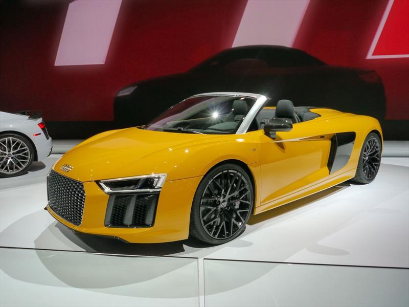 Este es el nuevo Audi R8 Spyder