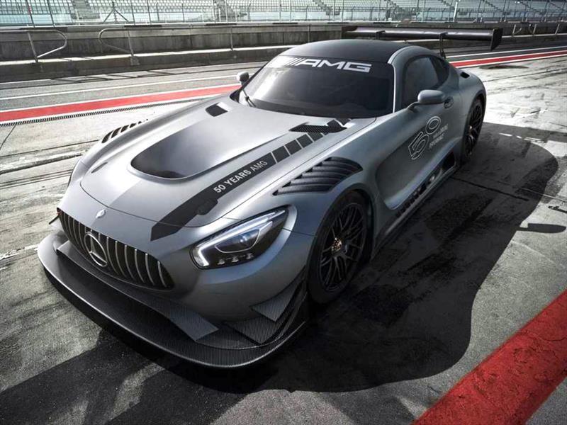 Mercedes-AMG GT3 Edition 50, autofestejo lleno de poder