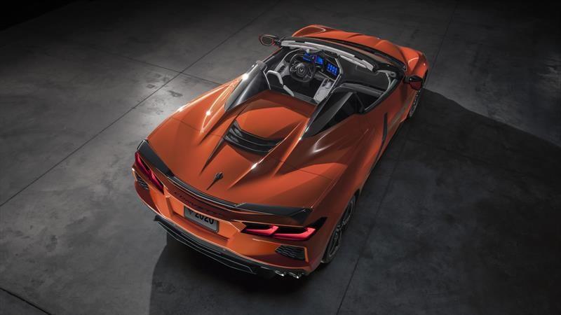 Chevrolet Corvette Convertible 2020, ahora con toldo rígido retráctil