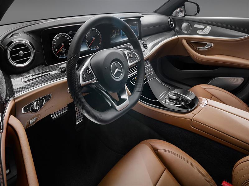 Mercedes-Benz Clase E 2017, primeras imágenes del interior ...