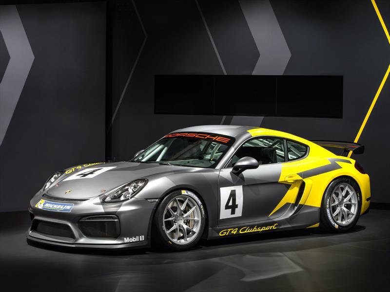 Porsche Cayman GT4 Clubsport, listo para competir