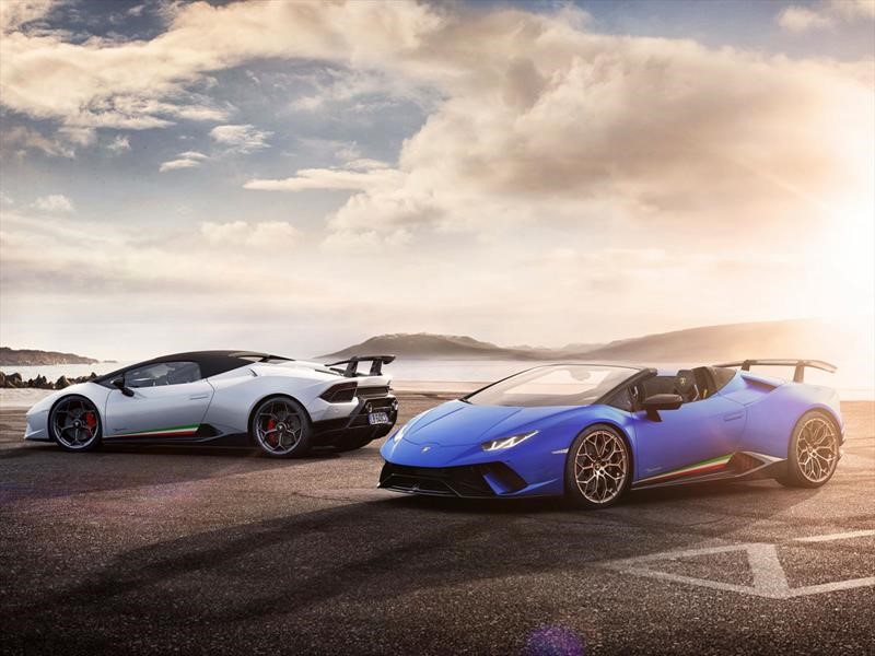 Lamborghini Huracán Performante Spyder 2019 debuta