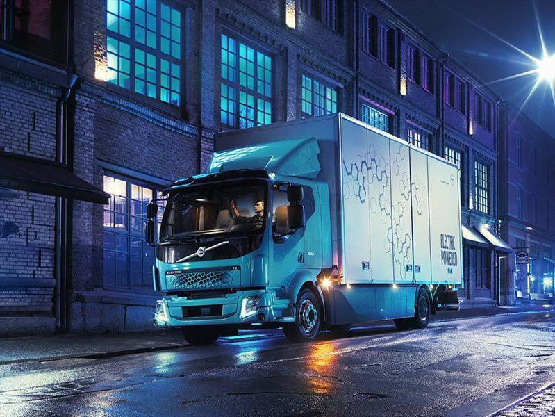 Volvo FL Electric es un camión eléctrico que cuida de tu dinero