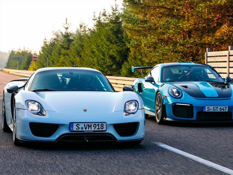 Los 5 autos de producción más veloces de Porsche