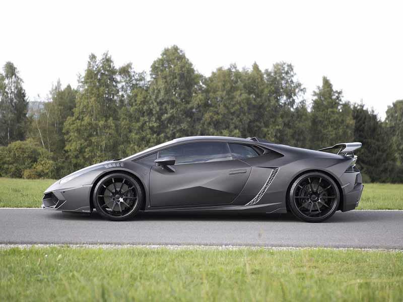 Mansory Torofeo, un Lamborghini Huracán con traje de fibra de carbono