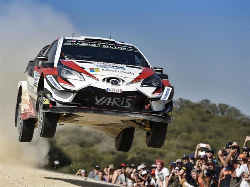Toyota gana en el WRC Argentina 2018