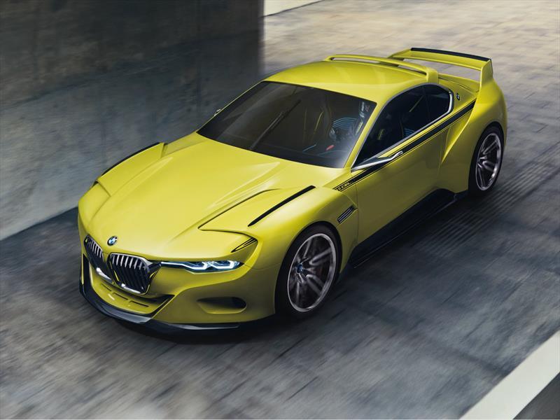 BMW 3.0 CSL Hommage se presenta