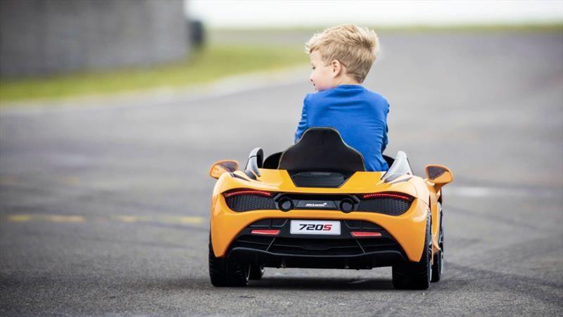 McLaren crea una versión para niños del 720S
