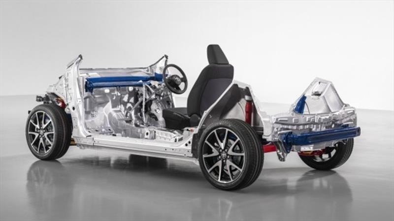 Toyota tiene nueva plataforma TNGA para autos pequeños, entre ellos el Yaris