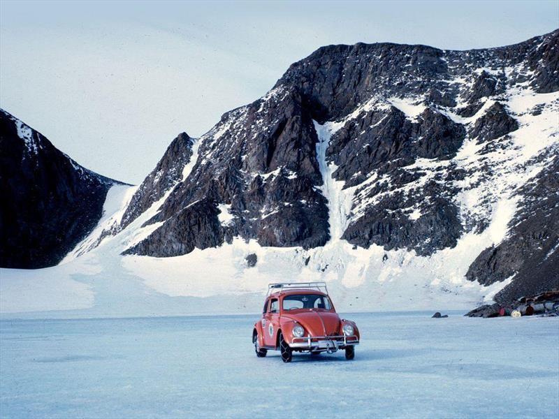 Volkswagen Vocho fue el primer auto en rodar en la Antártida
