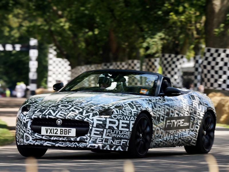 Jaguar F-Type Supercharged V6 Convertible debuta en el Festival de la Velocidad de Goodwood