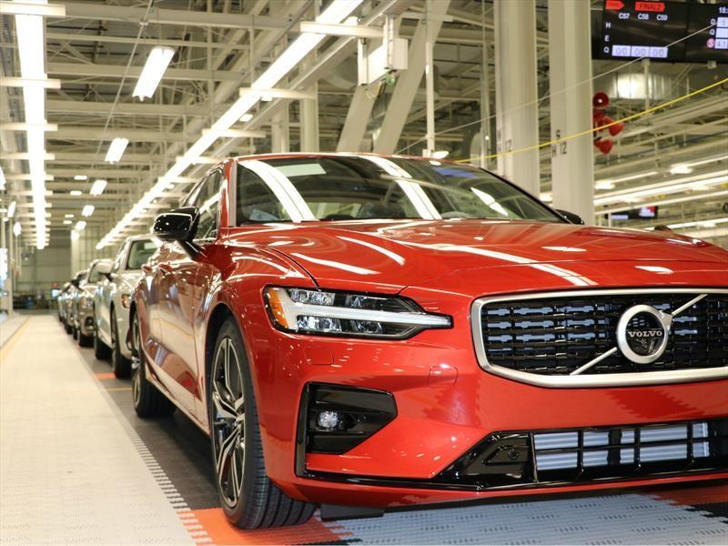 Volvo S60 2019 comienza con su fabricación en Carolina del Sur