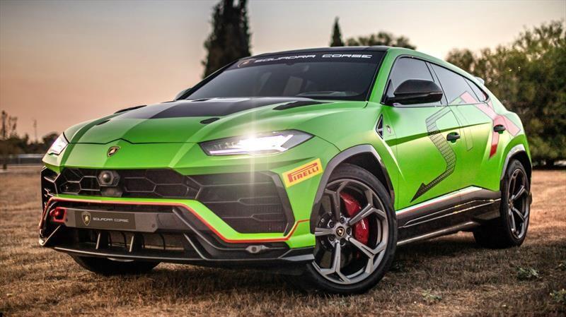 Lamborghini Urus ST-X es un auténtico SUV de carreras
