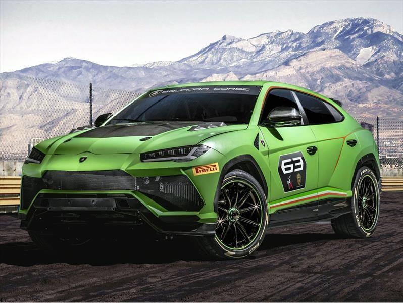 Lamborghini Urus ST-X Concept es el SUV de carreras capaz dentro y fuera del asfalto