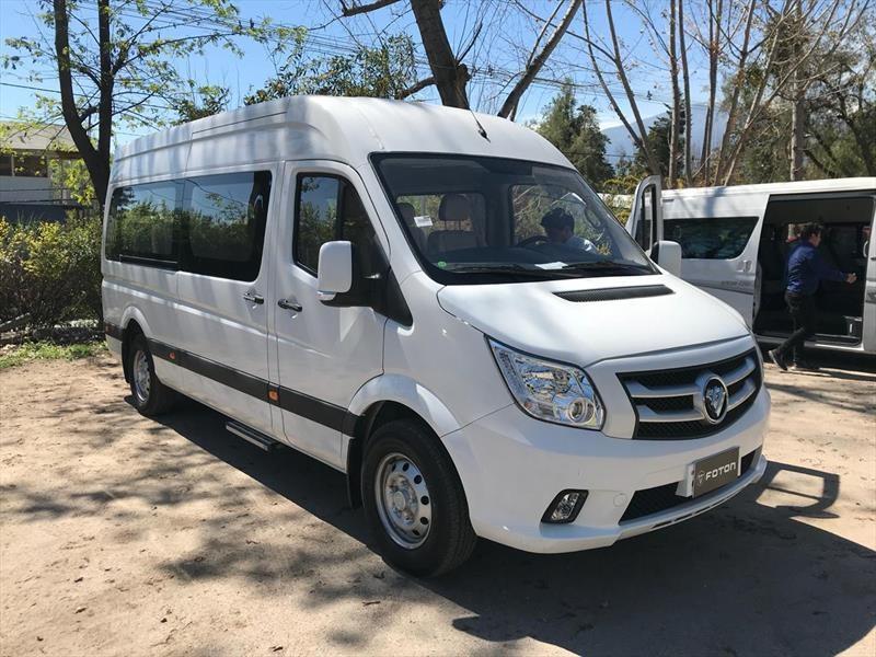 Foton amplia su oferta comercial con dos nuevos furgones