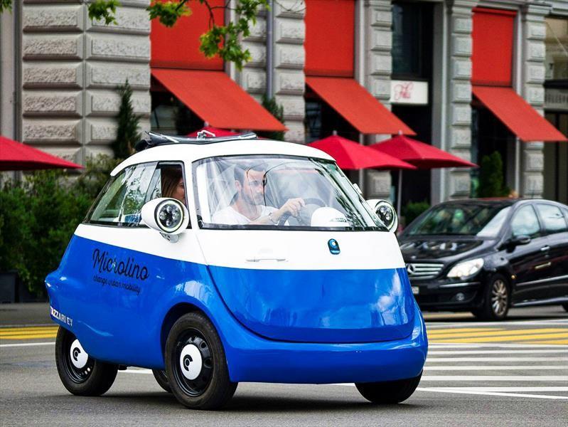 Microlino, el Isetta 100% eléctrico ya es realidad