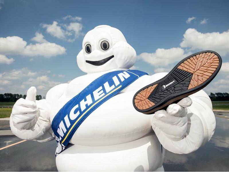Este es el calzado para skaters de Michelin