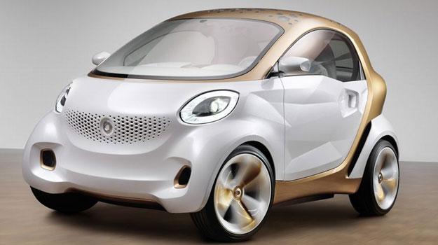 Smart Forvision Concept debuta en el Salón de Frankfurt 2011