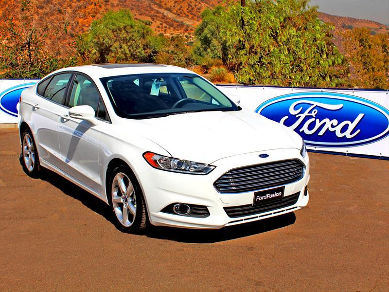 Nuevo Ford Fusion 2014 Estreno Oficial En Chile