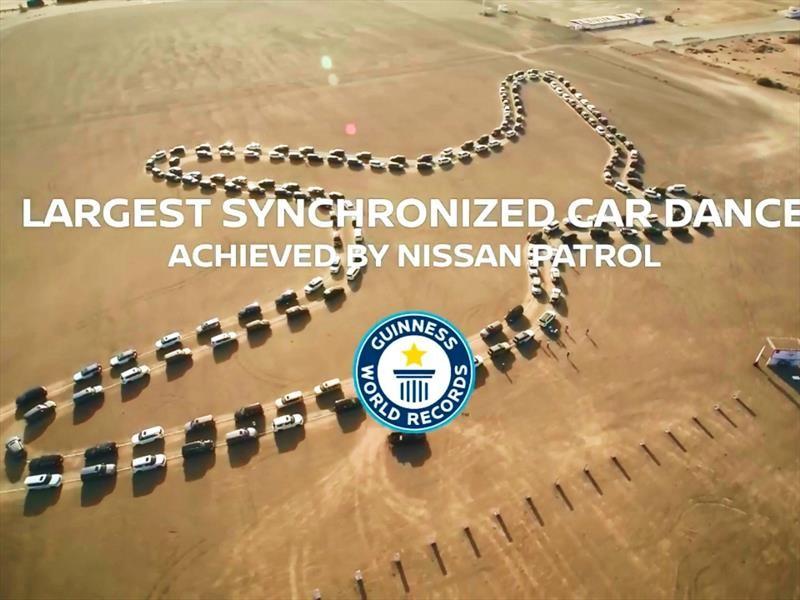 Nissan Patrol, al compás del halcón del desierto en Abu Dhabi