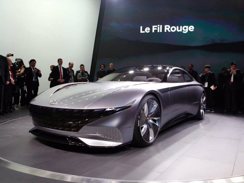 Hyundai 'Le Fil Rouge' Vision Concept enmarca la nueva era diseño