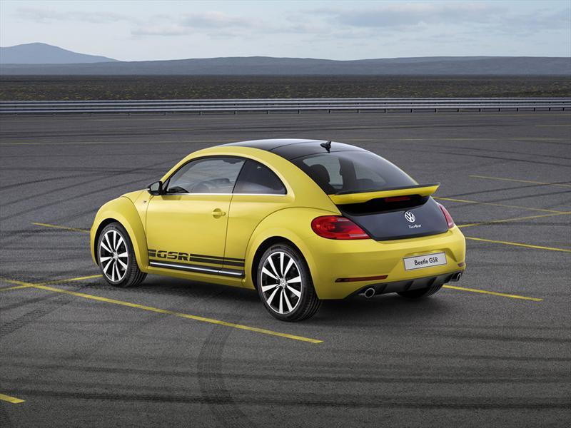 Volkswagen Beetle GSR debuta en el Salón de Chicago 2013