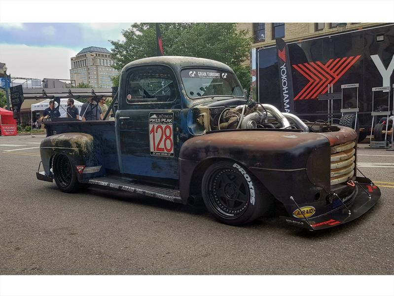 Old Smokey F1, la historia de una Ford F-1 1949 Rat Rod de 1,200 hp