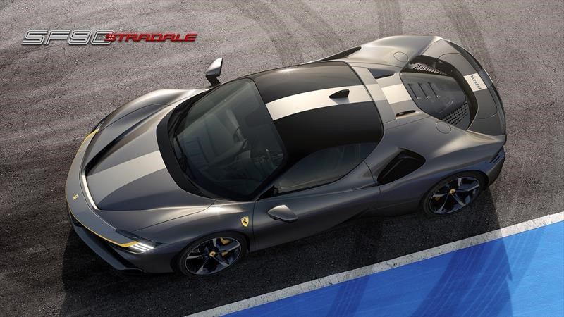 SF90 Stradale es el Ferrari más potente de la historia
