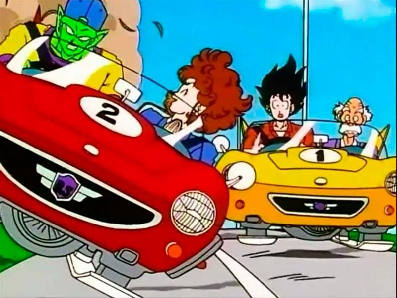 Los autos que han aparecido en Dragon Ball