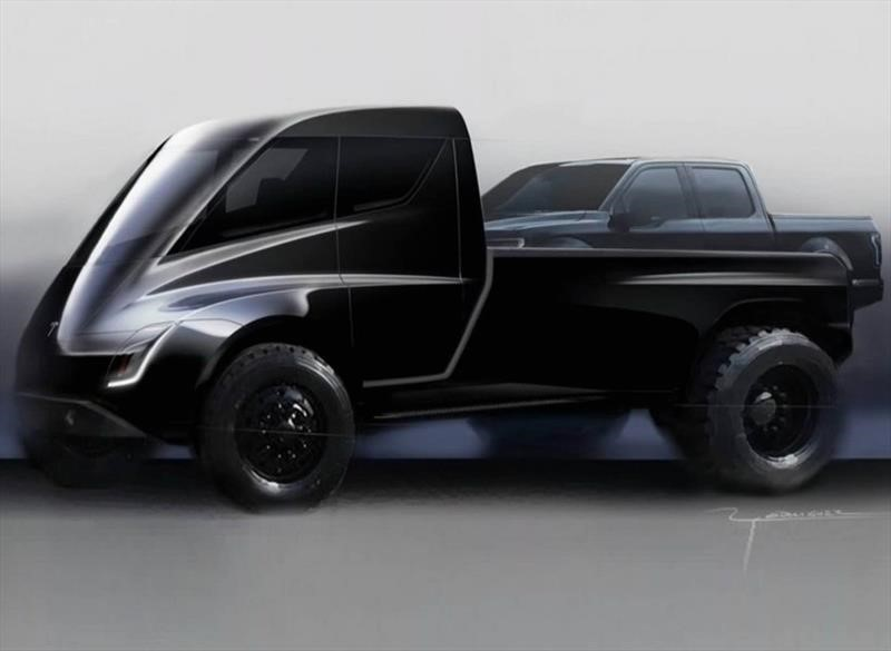 Tesla confirma una pick-up 100% eléctrica