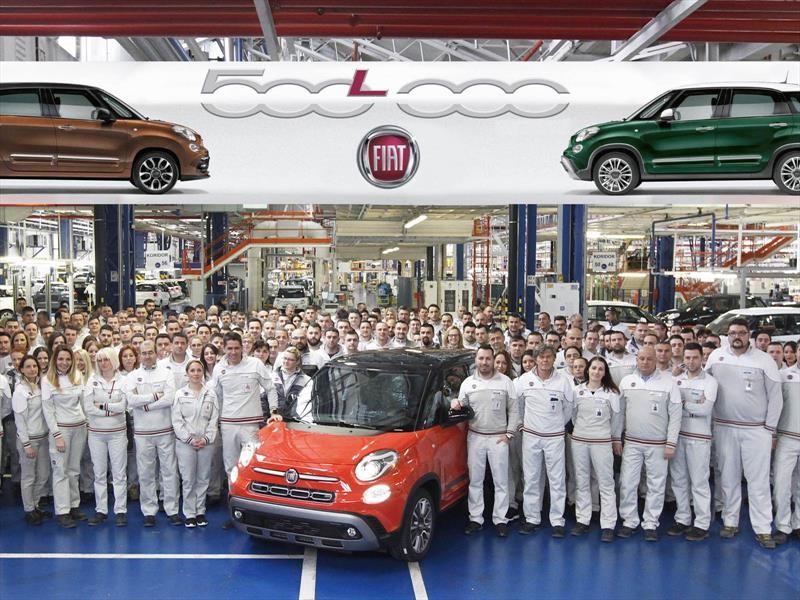 Fiat celebra medio millón de 500L