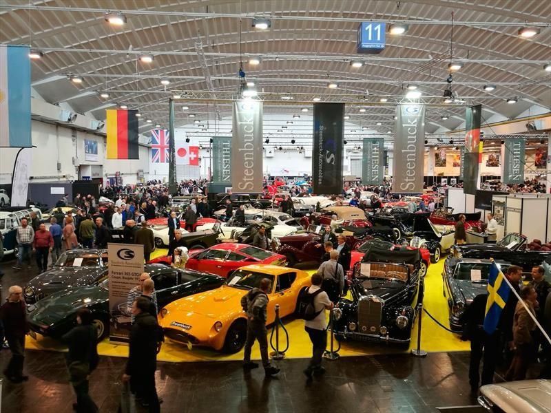 Techno-Classica Essen 2018, el paraíso de los autos clásicos
