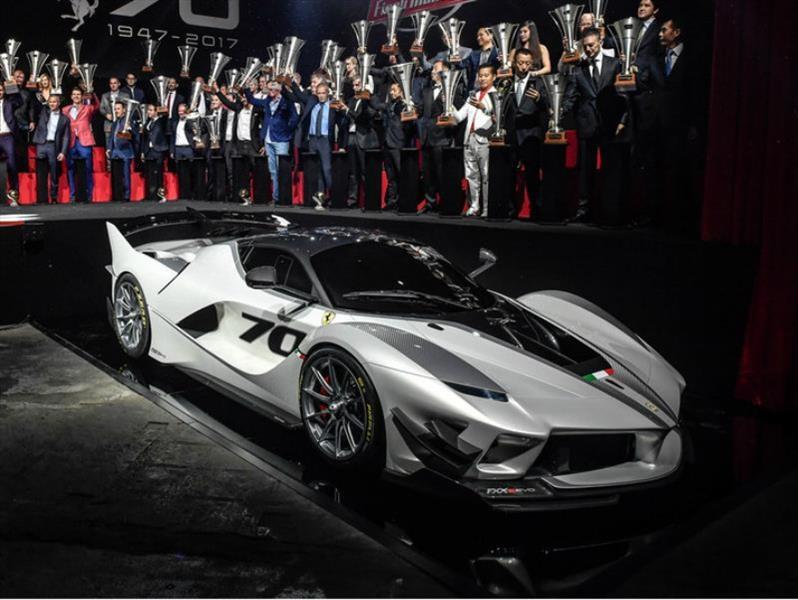 Ferrari FXX-K Evo es un auténtico laboratorio sobre ruedas