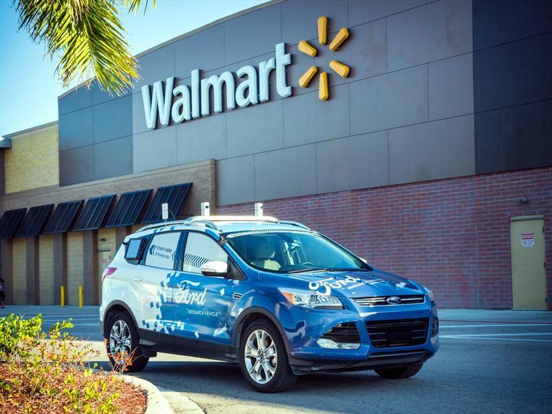 Ford y Walmart hacen delivery con vehículos autónomos