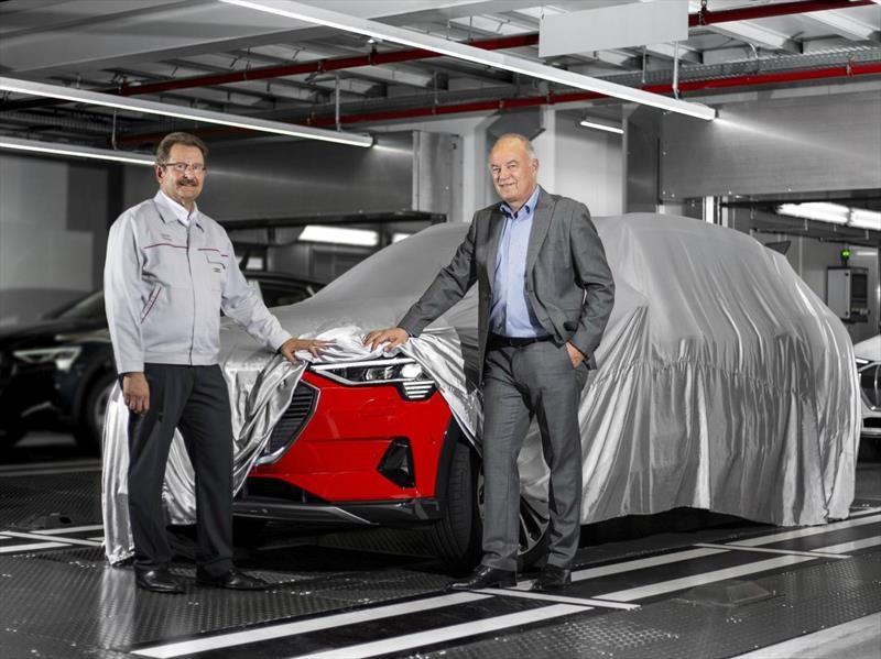 Audi e-tron inicia su producción en serie en Bélgica