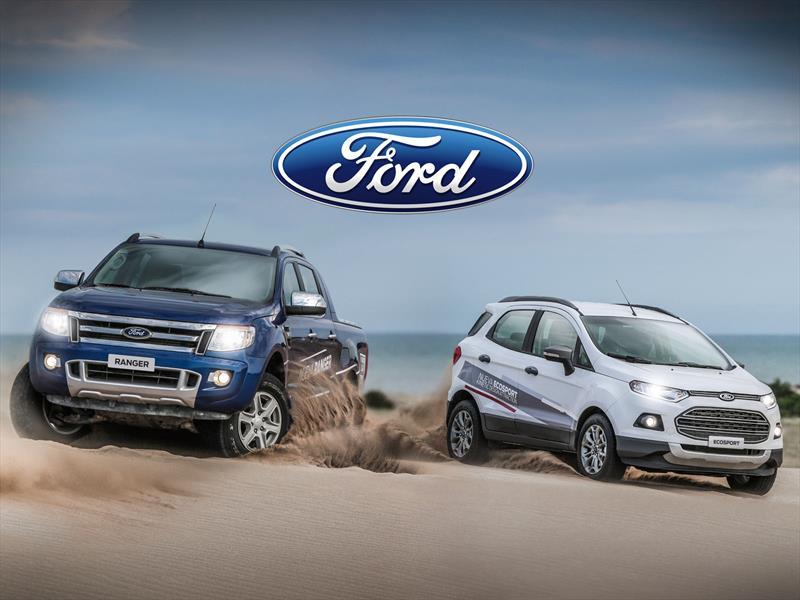 Ford veranea en la costa y te deja probar sus vehículos